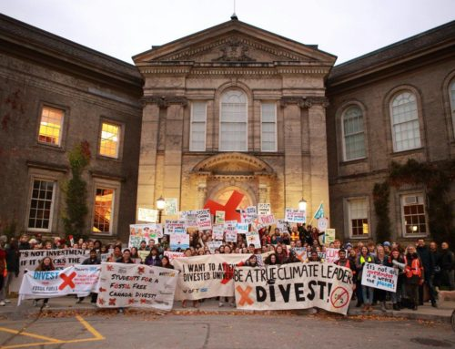 University of Toronto Students Leap Towards a Fossil Free Future