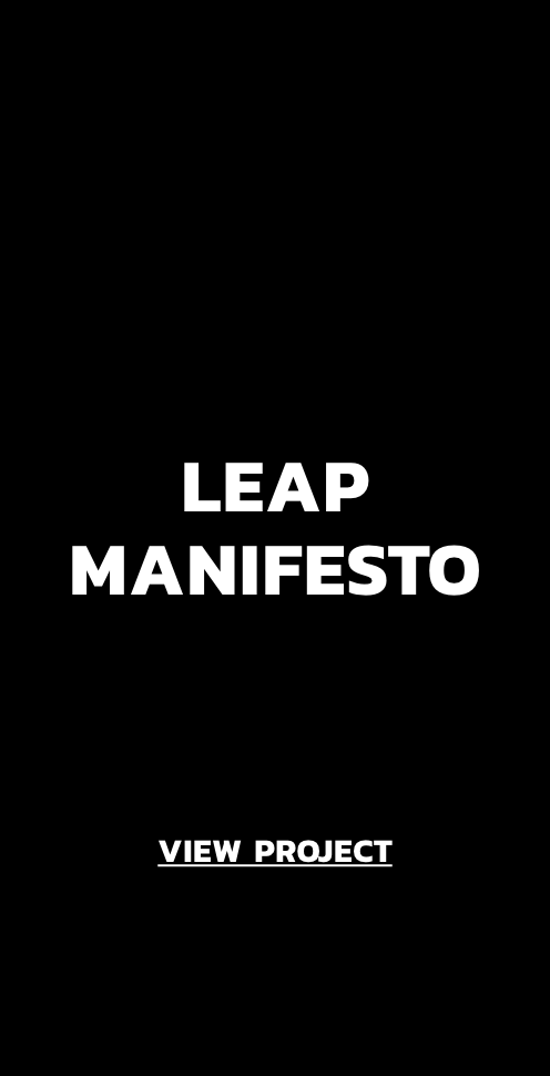 View Project: Leap Manifesto